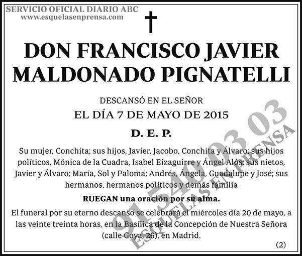 Francisco Javier Maldonado Pignatelli